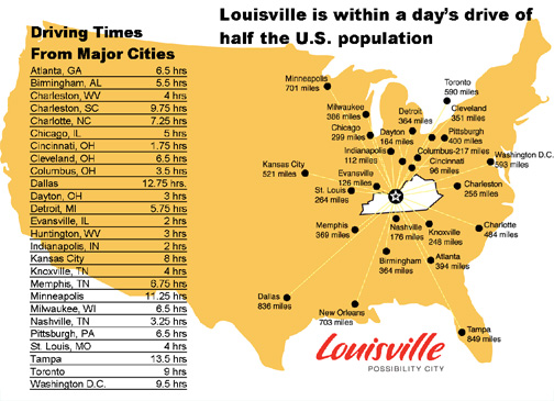 day drive map